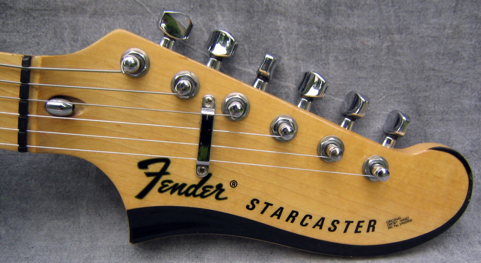 Guitar Headstock Holes Are Bigger Than Tuner Shaftbushing