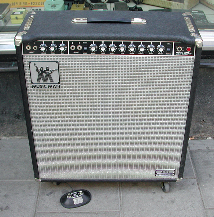 Musicman Bass Amp This Bass Amp Can be Seen in