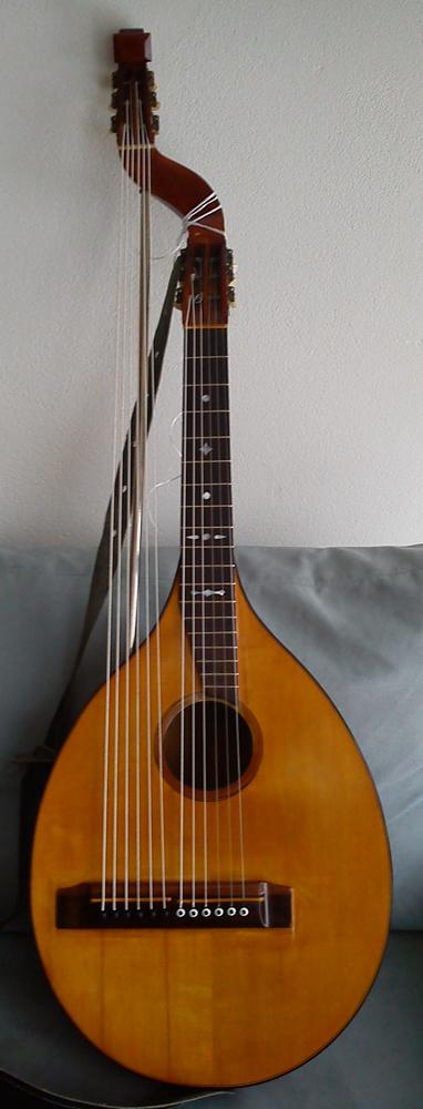 Vintage Guitars Sweden 1925 Levin Scholander Lute 12 String