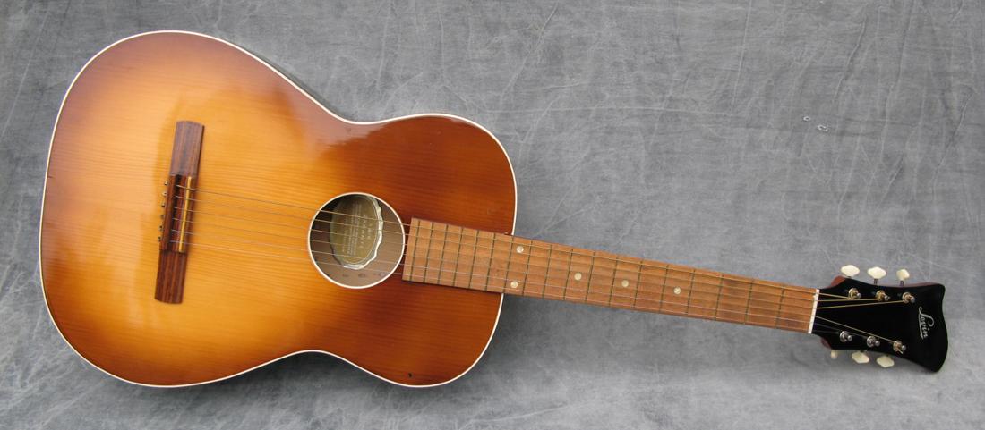 vintage guitars sweden 1952 levin model 27 texas. Black Bedroom Furniture Sets. Home Design Ideas