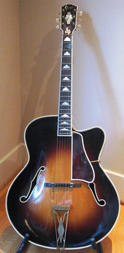 1963 Vintage Gitarre Schweden